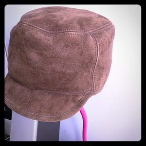 UGG brown shearling hat